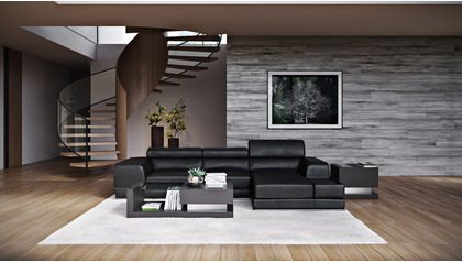Encore Sectional - Black