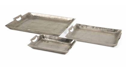 Lindi Aluminum Trays - Set of 3
