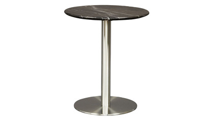 Allena Side Table - Black Marble