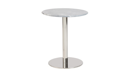 Allena Side Table - Gray Marble