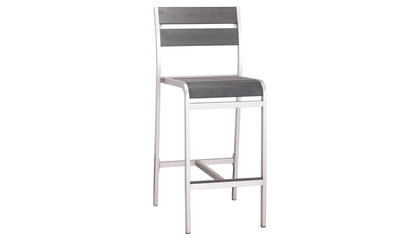 Ashton Armless Bar Chair - Set of 2