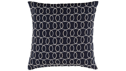 Bold Waves Square Throw Pillow