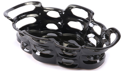 Black Bajo Tray Large