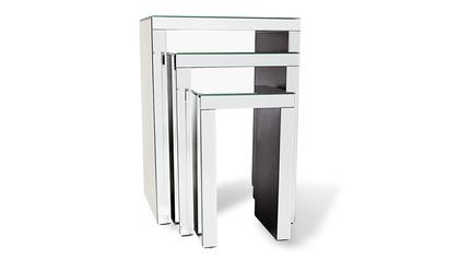 Celeste Mirrored Nesting Tables