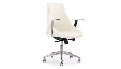 Chambers Leather Executive Chair - Cream