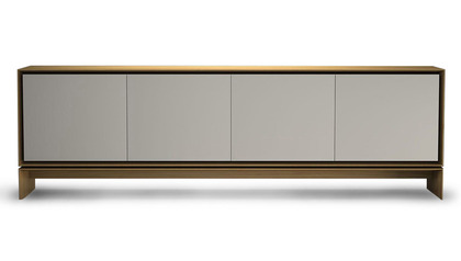 Ciaran Sideboard - Beige on Natural Oak