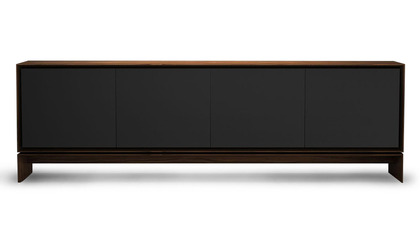 Ciaran Sideboard - Graphite on Walnut