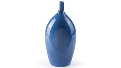 Cobalt Medium Vase Blue