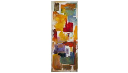 "Colorful Blocks Canvas Art II - 70"" x 27"""