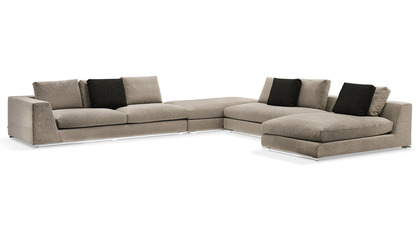 Comodo Sectional - Grey