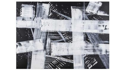 "Confusion Canvas Art - 70"" x 96"""
