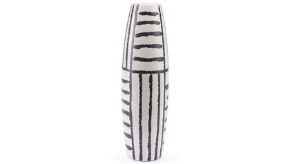 Croma Large Vase Black & White