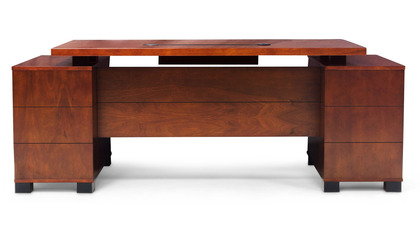 Ford Desk - Light Walnut