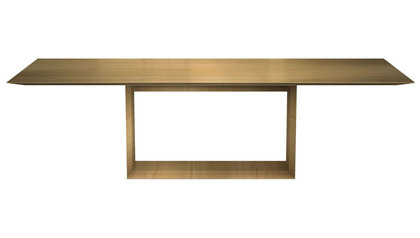 Galice 106 Inch Rectangular Dining Table - Natural Oak