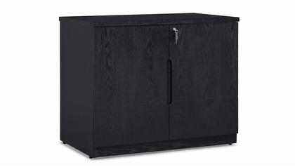 Hayes Cabinet Small - Black Oak