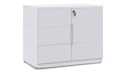 Hayes Cabinet Small - White