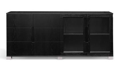 Hayes Cabinet - Black Oak