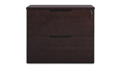Hayes Lateral filing Cabinet - Dark Walnut