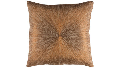 Jena Square Throw Pillow with Down Insert