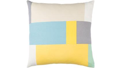 Lina Blocks Throw Pillow