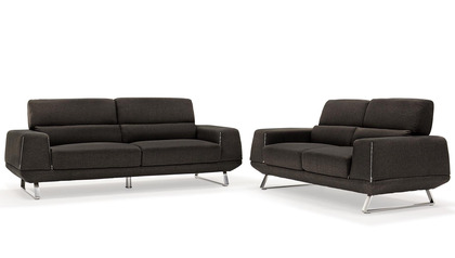 Logan Sofa and Loveseat Set