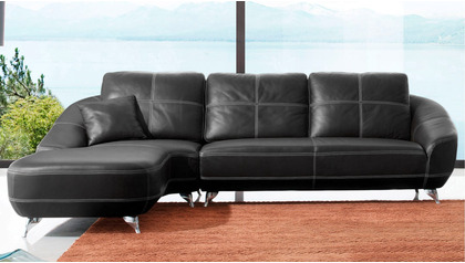 Lucy Sectional - Black