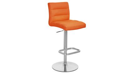 Orange Lush Bar Stool