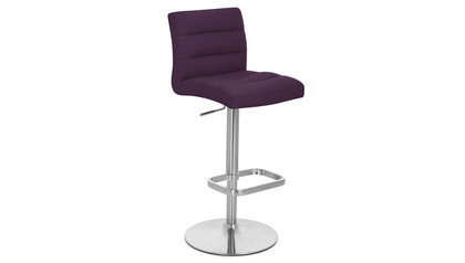 Purple Lush Bar Stool
