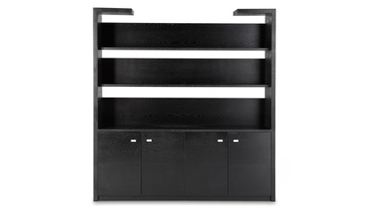 Madison Shelf - Black Oak
