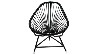 Micro-Acapulco Chair - Black Frame