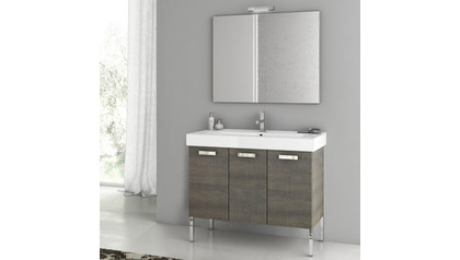 Cubical 37 Inch Vanity Set
