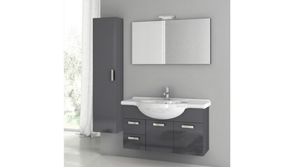 Phinex 39 Inch Vanity Set with Storage Cabinet