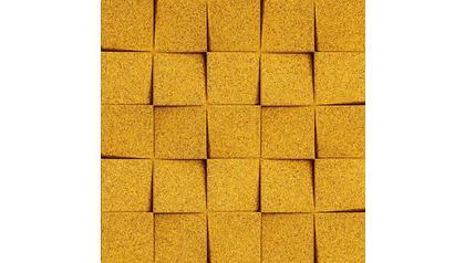 Mini Chock Cork Organic Blocks Wall Design
