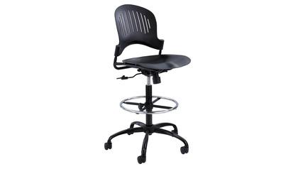 Zippi Plastic Extended-Height Chair
