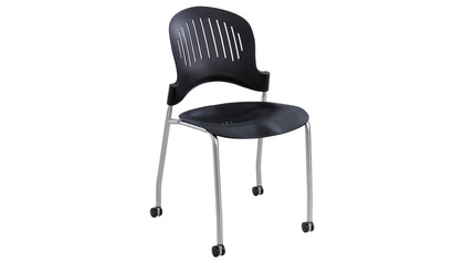 Zippi Plastic Stack Chair - 2 PC Set