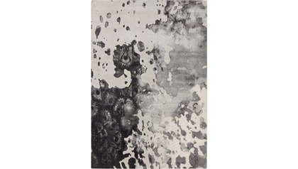 Rorschach Rug - Charcoal