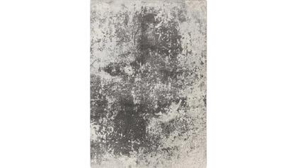 Rorschach Rug - Light Gray