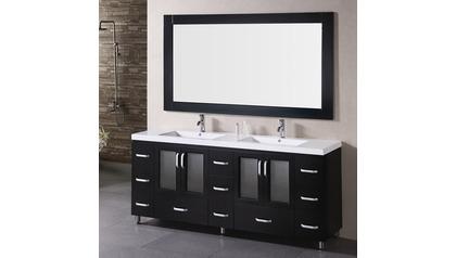 """Alexander 72"""" Double Sink Vanity Set"""