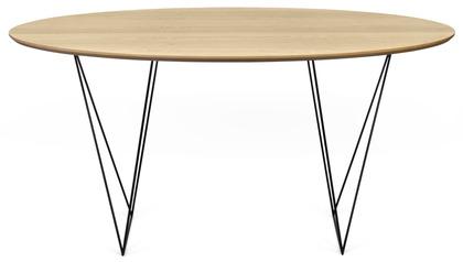Aventine 59 Inch Round Trestle Table
