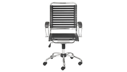 Bobbie High Back Office Chair with Flat J-Arm