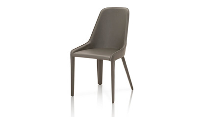 Caprica Leather Dining Chair
