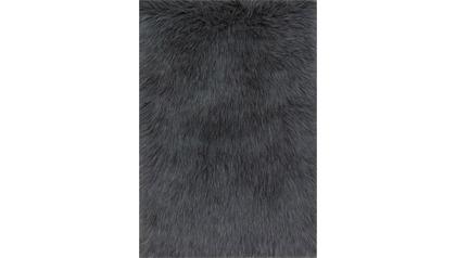 Conga Shag Solid Rug - Grey
