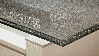 """Crackled 59"""" x 20"""" Buffet/Console Top"""