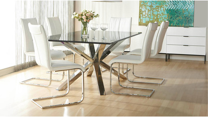 """Crackled 75"""" x 42"""" Dining Table Top"""