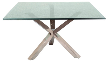 Crackled Small Square Dining Table Top