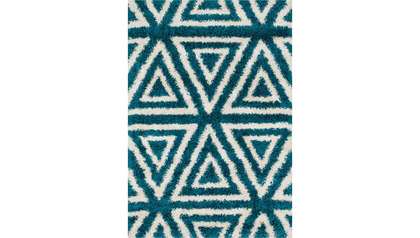 Diagon Triad Shag Rug