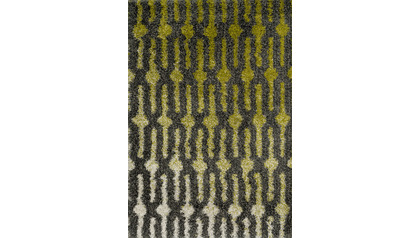 Diagon Green and Grey Rug
