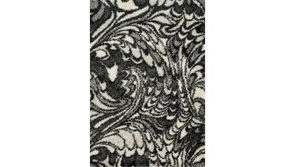 Diagon Charcoal and Ivory Rug