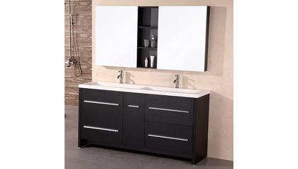 """Donovan 63"""" Double Sink Vanity Set"""