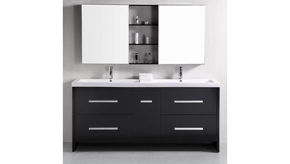 """Donovan 72"""" Double Sink Vanity Set"""